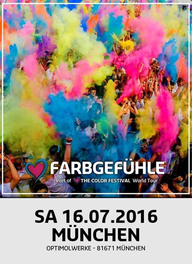 Festival-Liebe im Juli Farbgefuehle