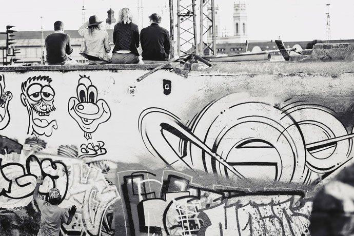 Graffiti   Viehhof   Oktoberfest