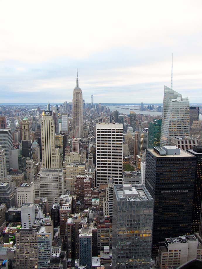 Ausblick vom Top of the Rock