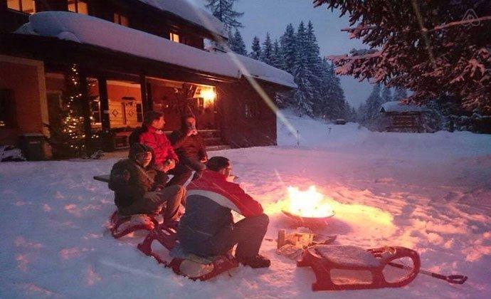 weihnachtlicher Hüttenzauber