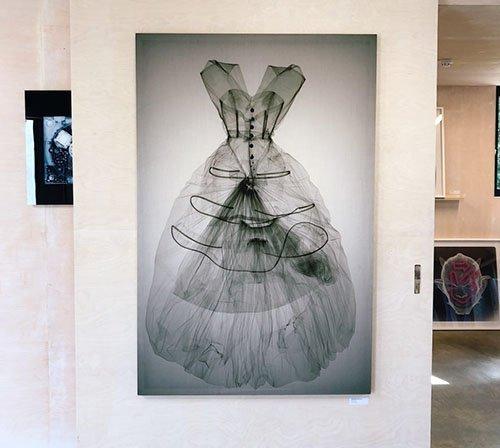 Balenciaga Dress under X-Ray